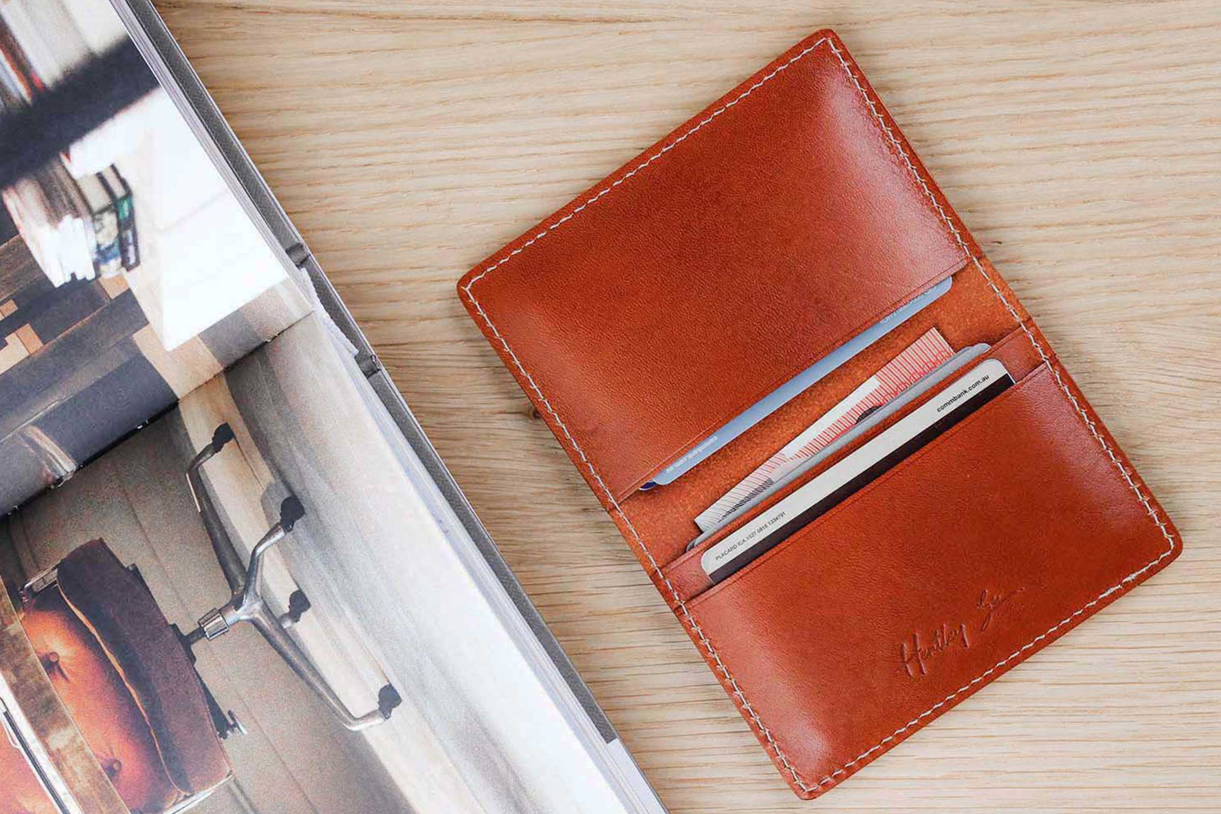 A Beautiful New Range Of Affordable Leather Wallets | Hentley