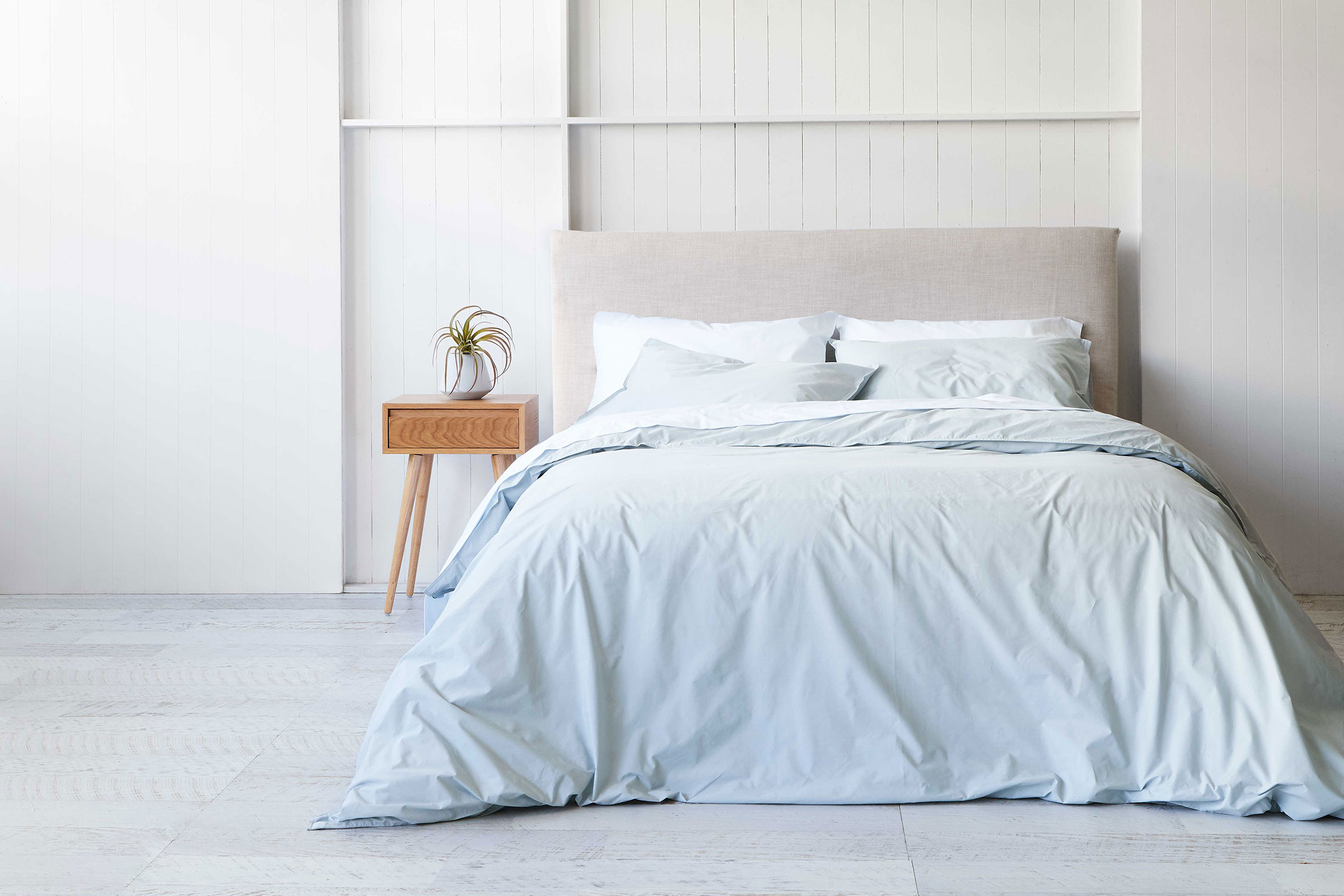 Crisp Cotton Bedding From A New Local Brand | Sheet Theory