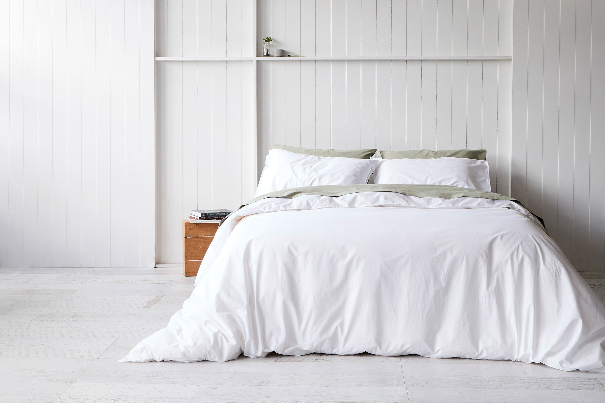 Crisp Cotton Bedding From A New Local Brand Sheet Theory