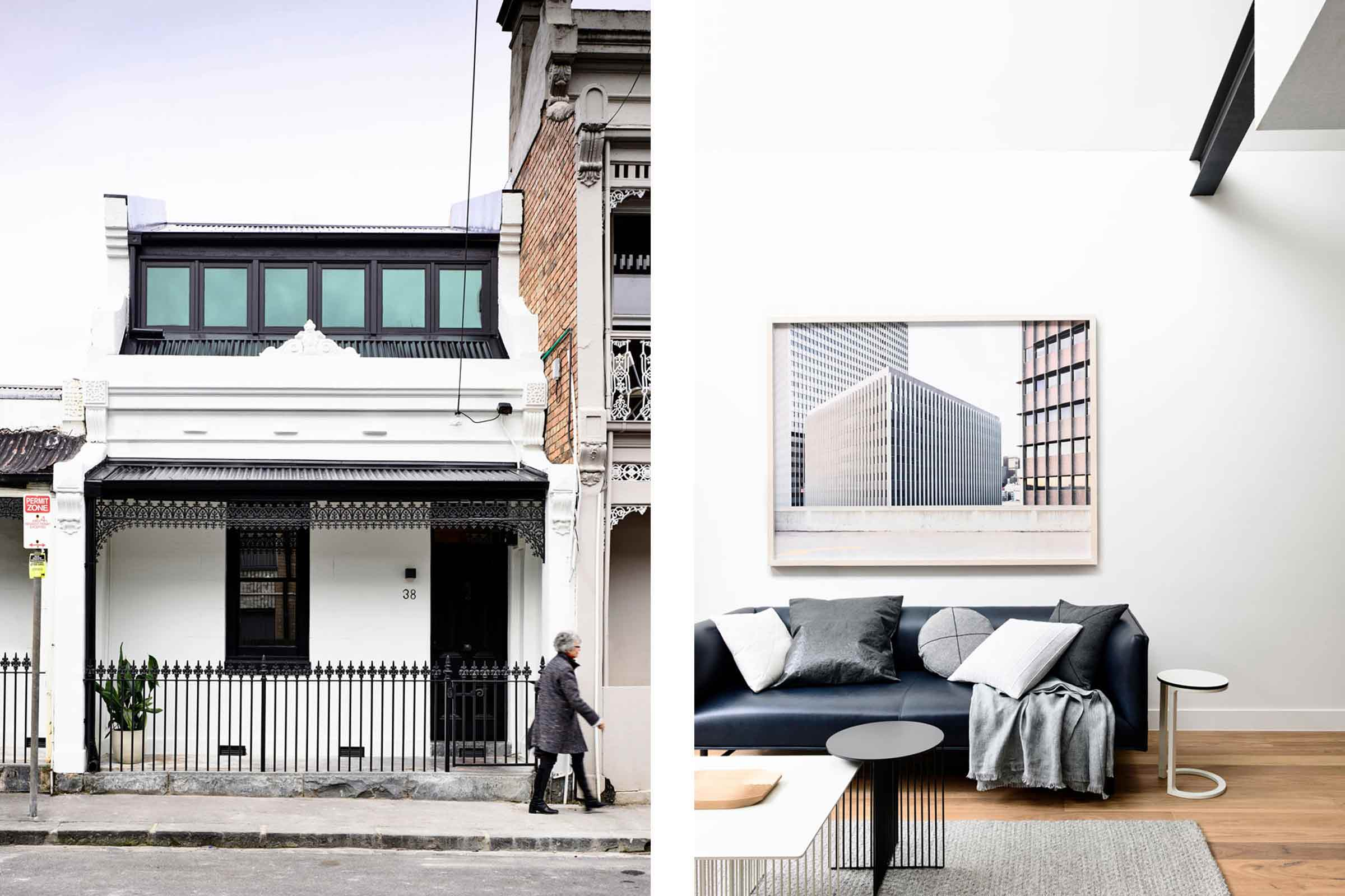 A Monochrome House In Carlton by Tom Robertson