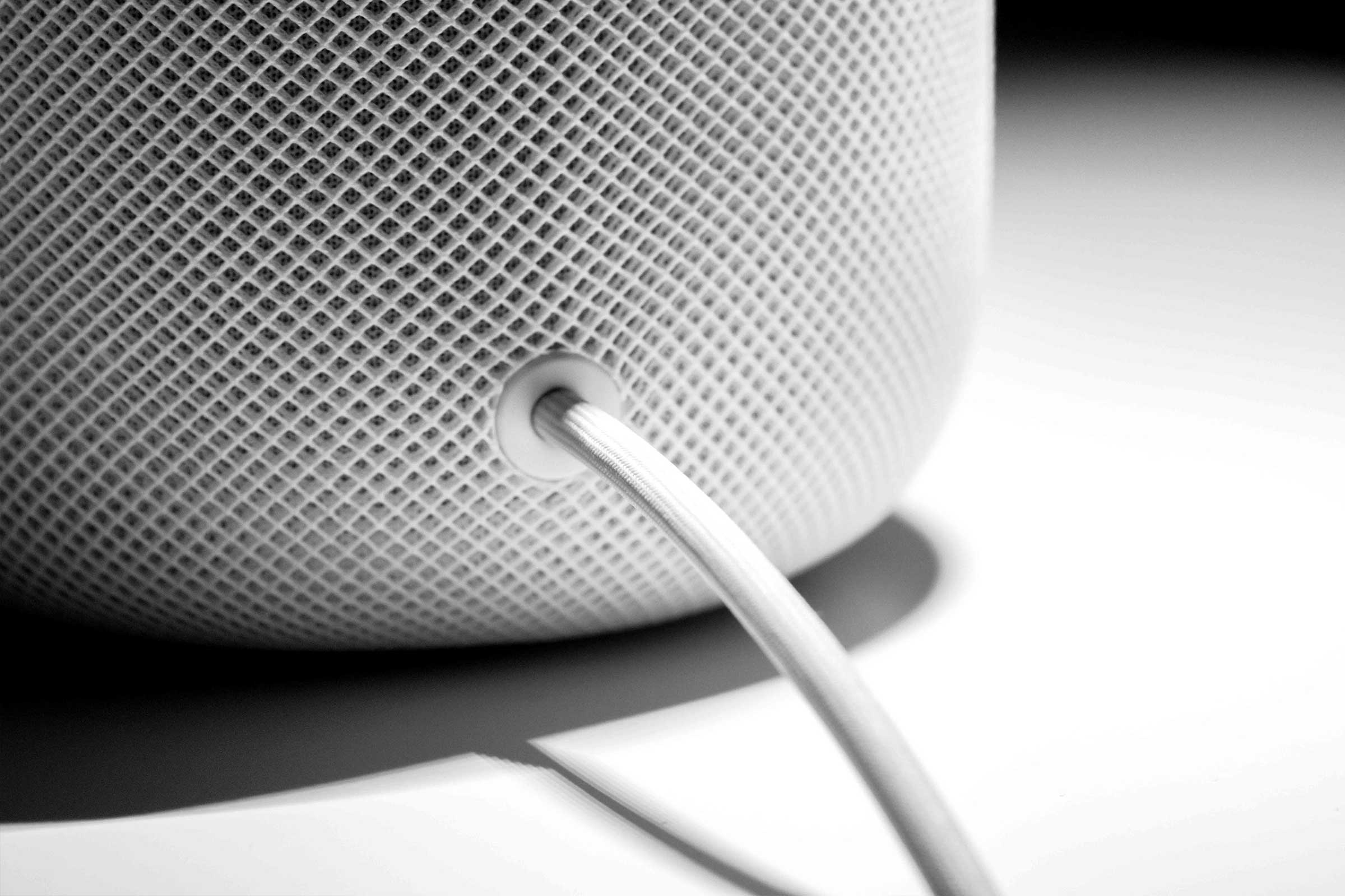 Apple HomePod Review | Cord Detail