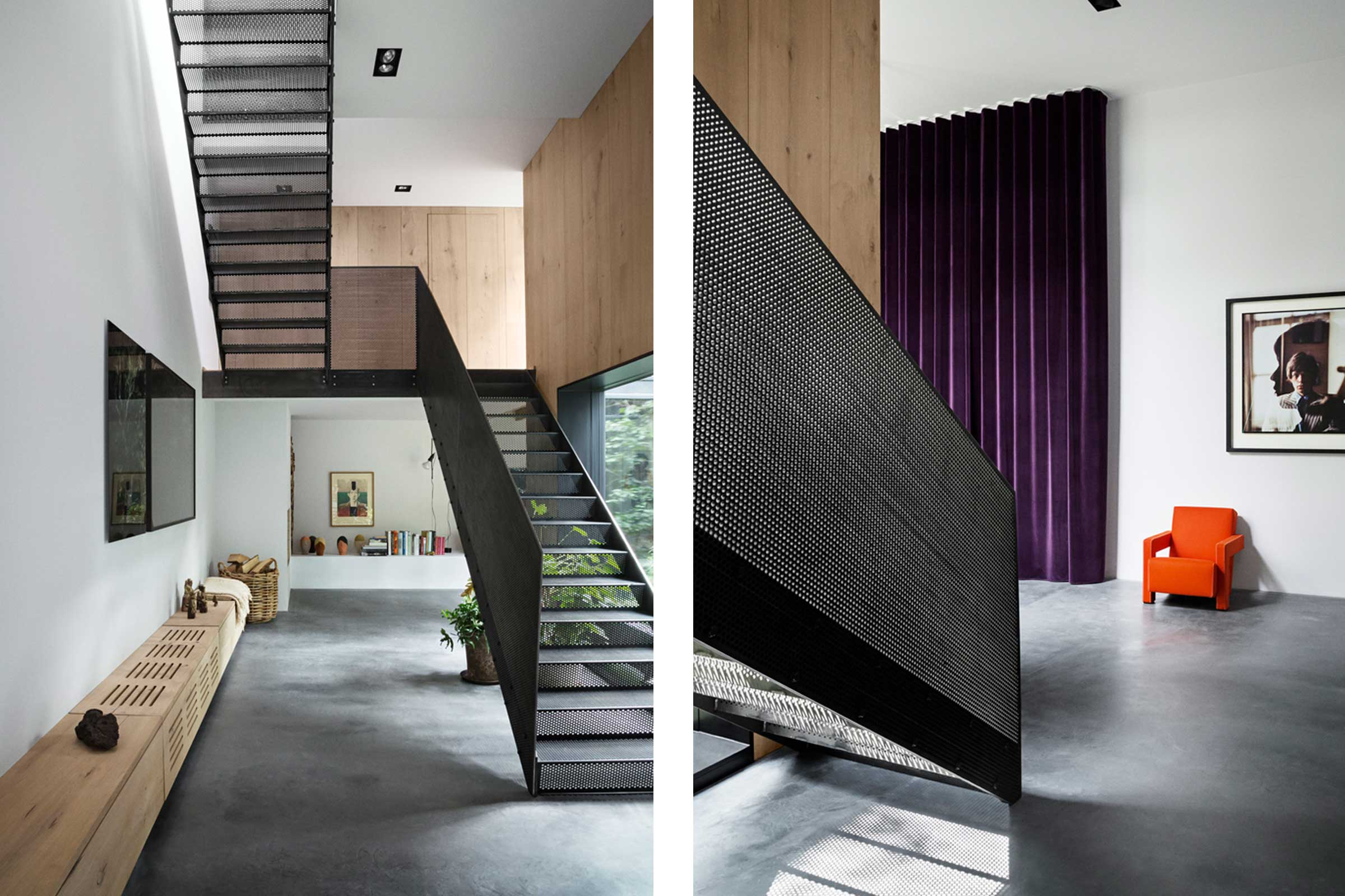 Peter's House Staircase | Industrial Home In Copenhagen