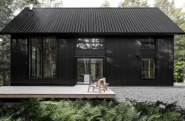 Black Chalet Feature