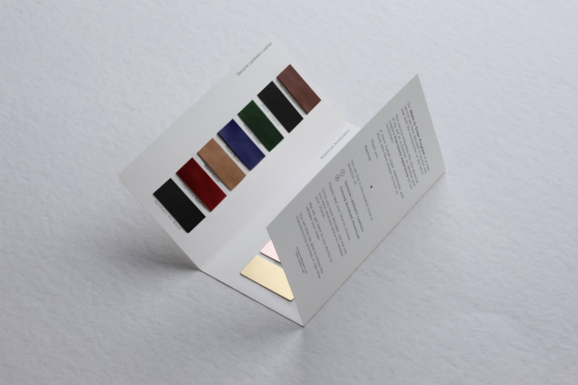 AEDLE VK-X Swatches