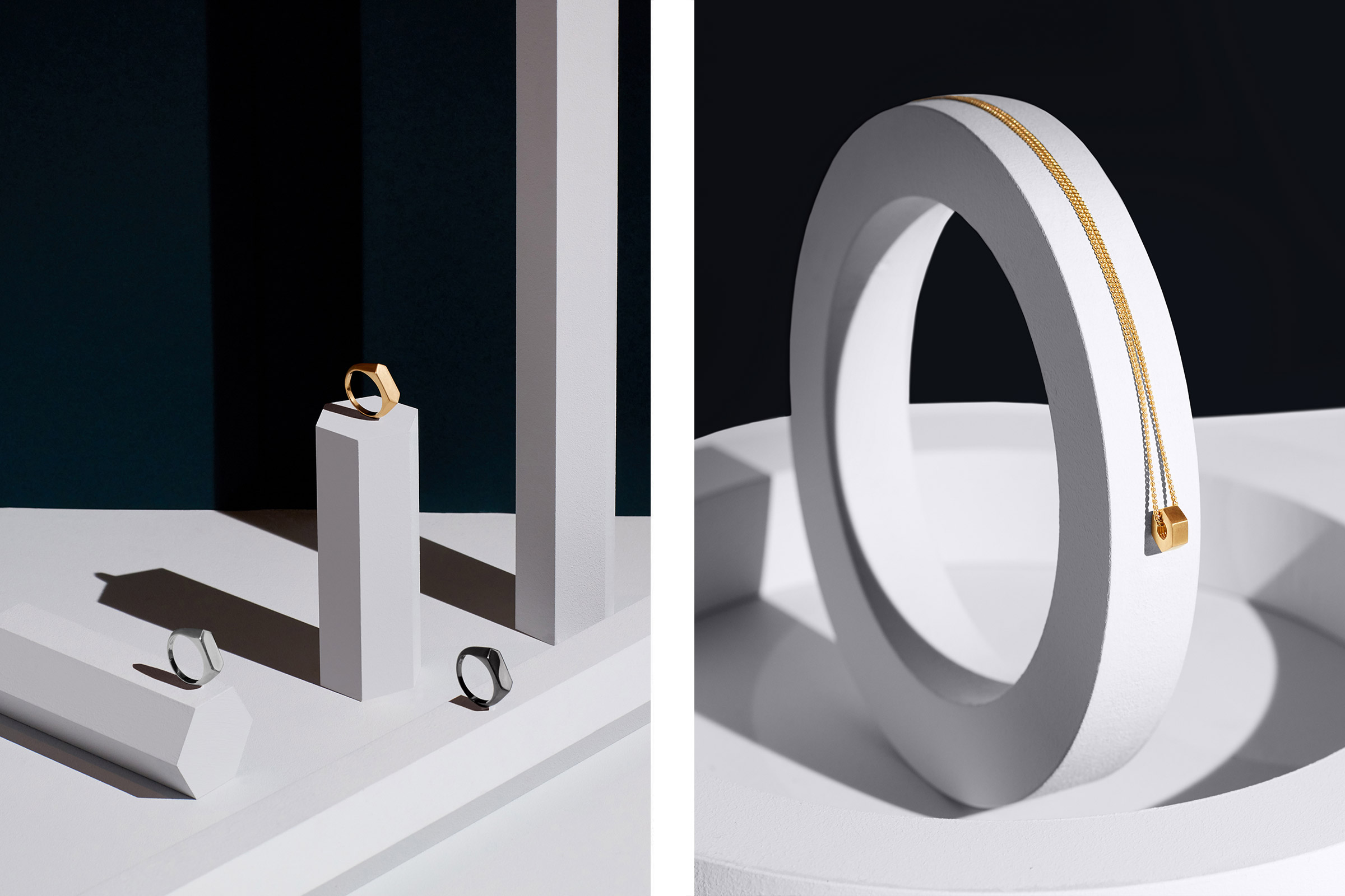 ALEX ORSO - PENDANT RINGS