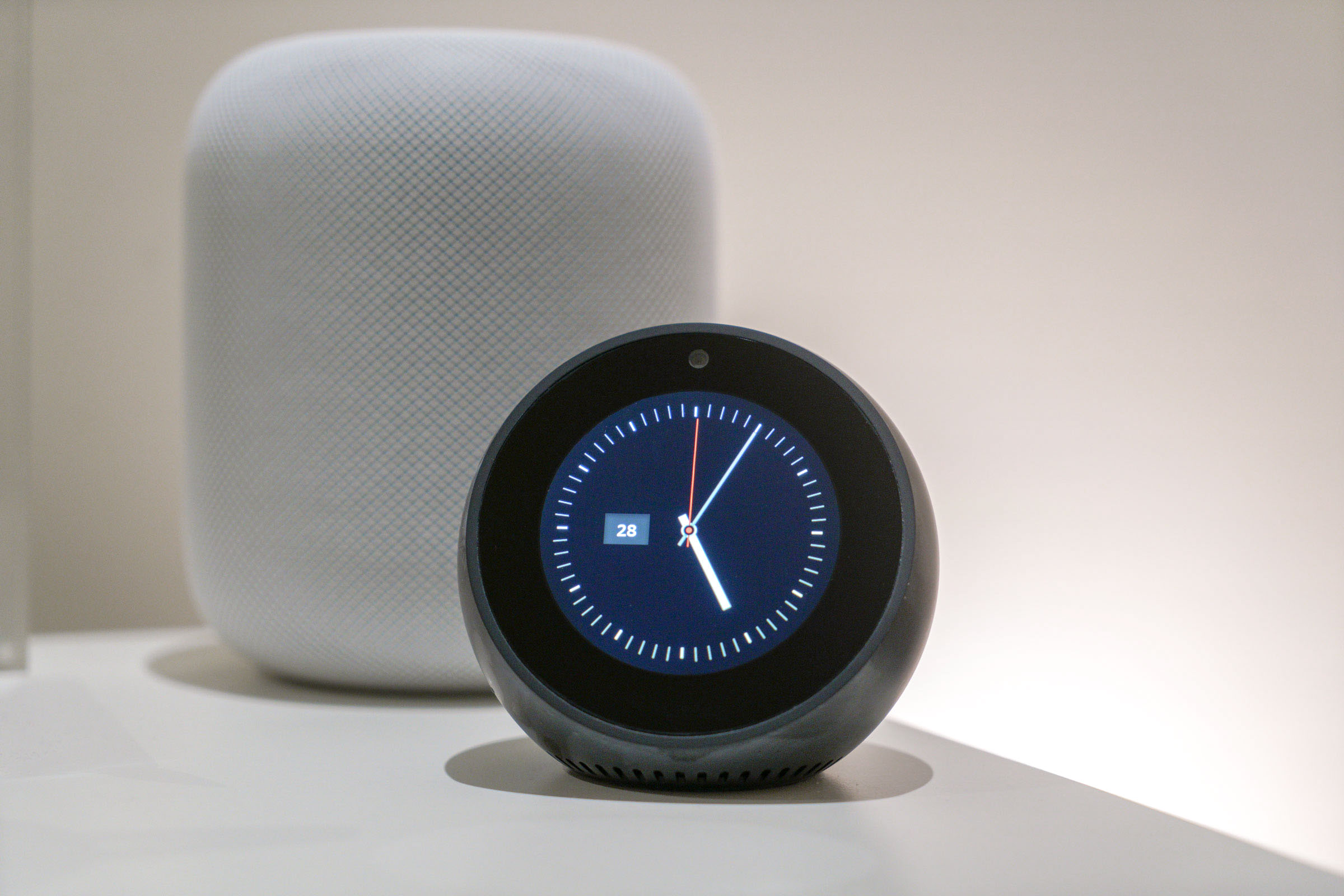 echo spot review smarter than the average alarm clock. Black Bedroom Furniture Sets. Home Design Ideas