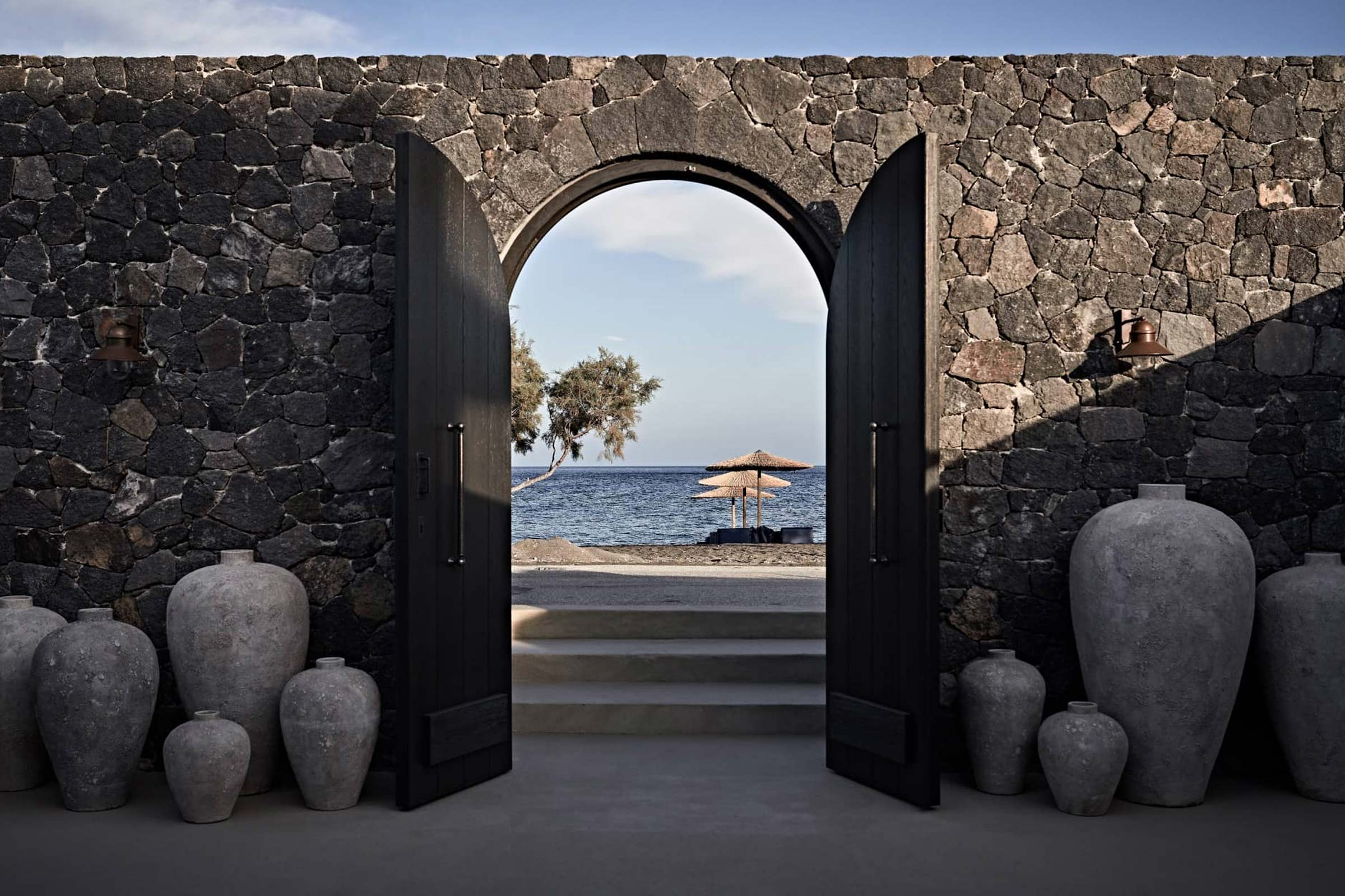 boutique hotel in santorini - istoria hotel arch