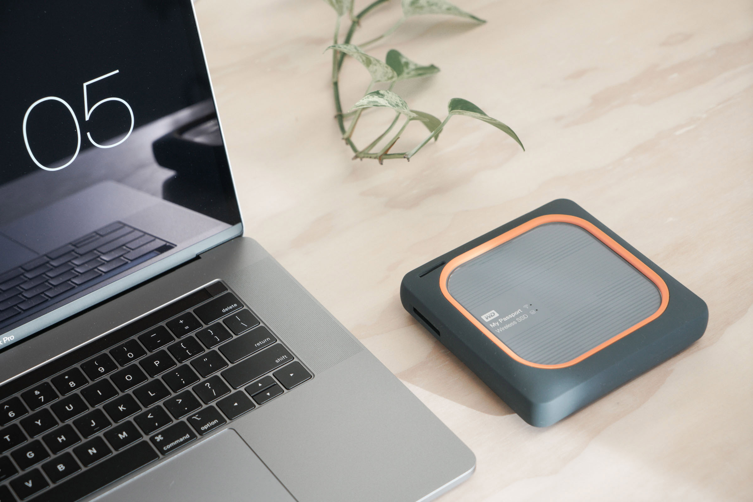 WD My Passport Wireless SSD - Macbook Pro