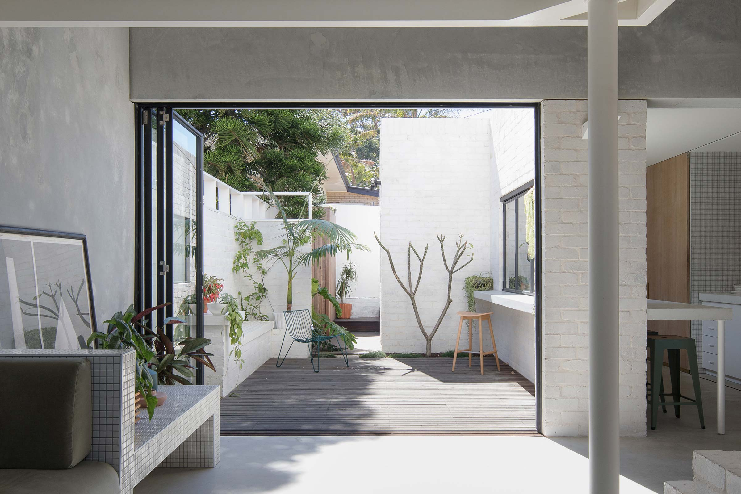 A Tiny, Sustainable Concrete Home In Perth | House A
