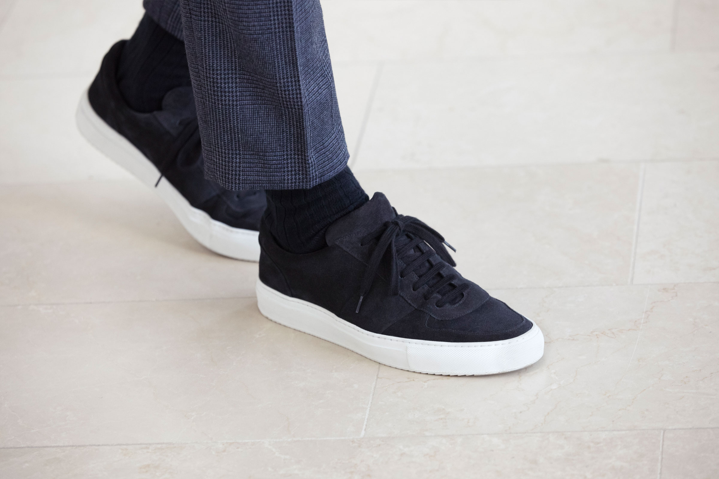 MR P COLLECTION FOOTWEAR SUEDE SNEAKERS