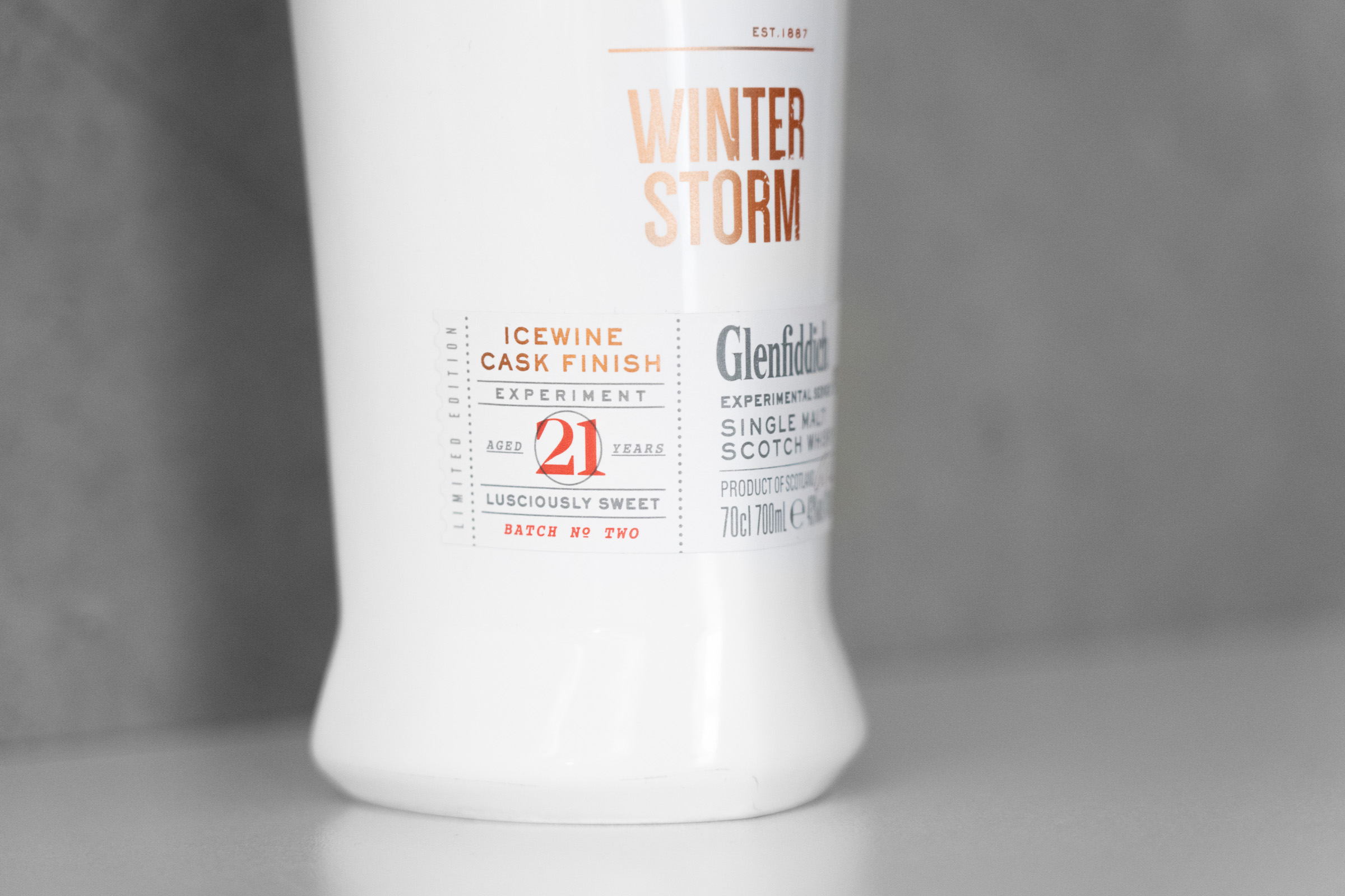 Winter Storm - Bottle Side
