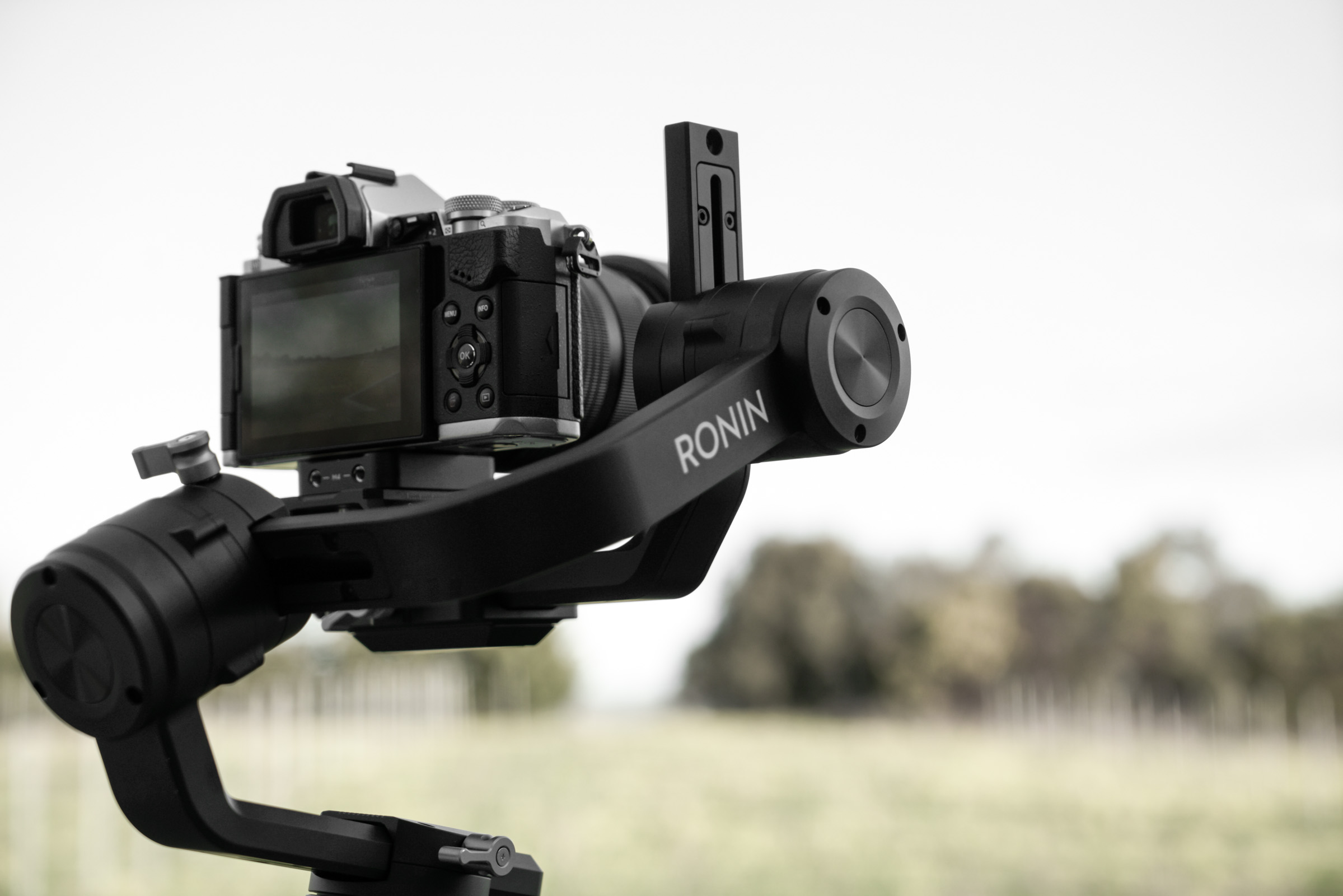 DJI Ronin-S - Screen