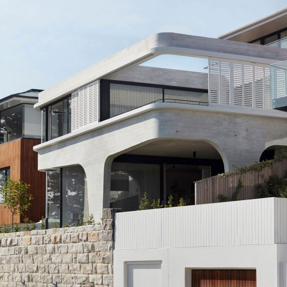 Concrete Coastal Home Sydney