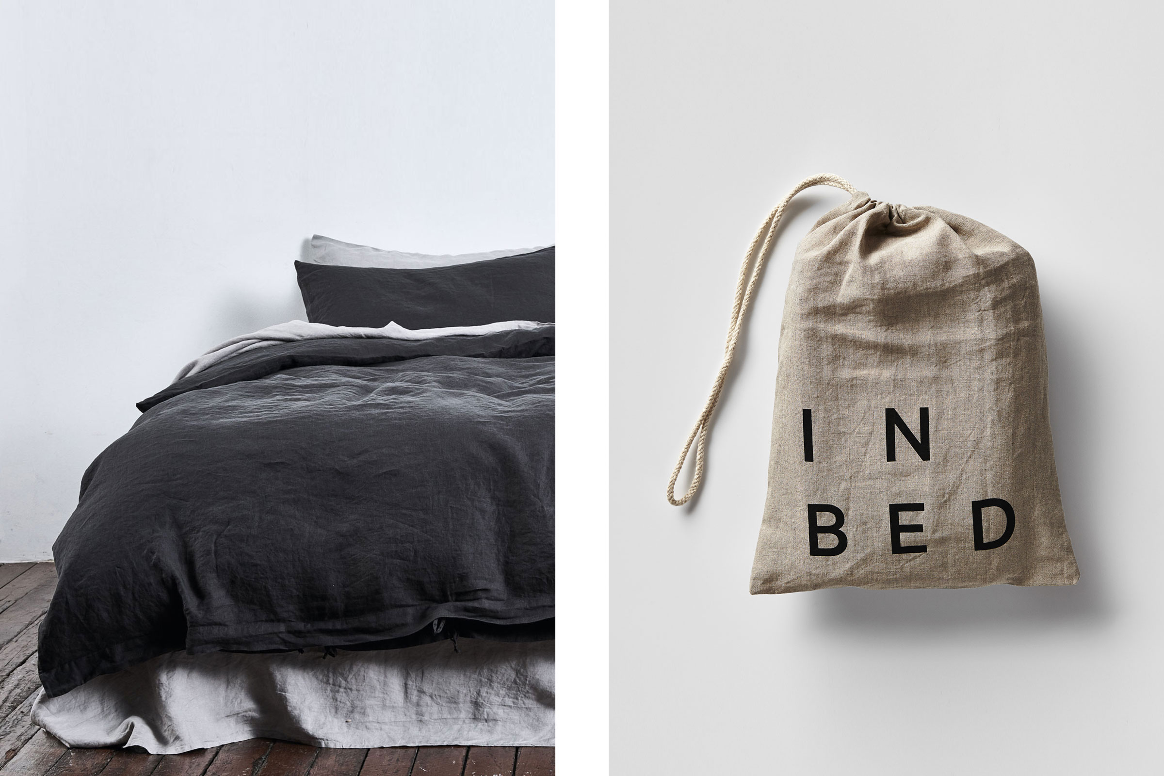 Home Gift Guide - IN BED -  100% Linen Duvet Cover