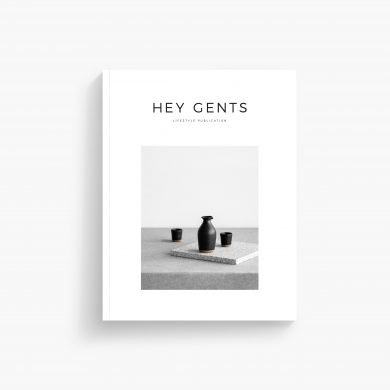HEY GENTS Magazine Issue 05 Cover