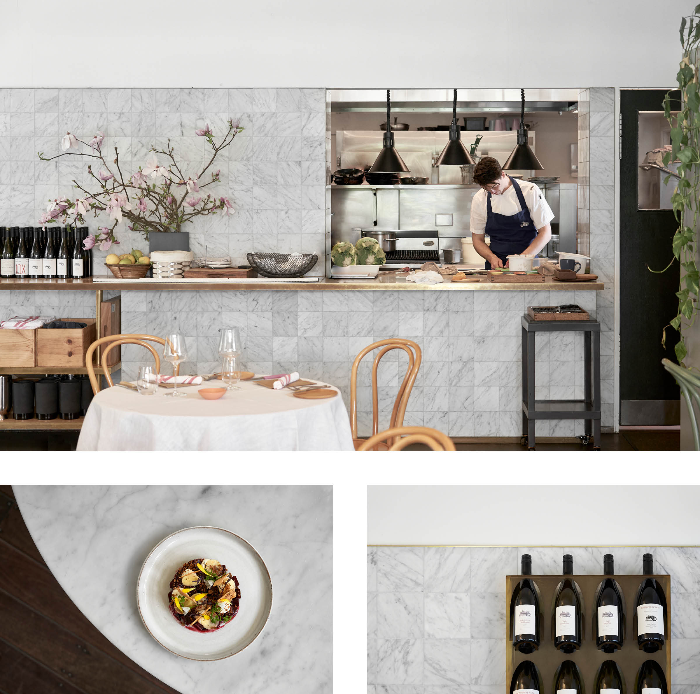 A MINI Guide To The Mornington Peninsula — HEY GENTS Magazine — The best cafes, restaurants, wineries and design hotels on the Mornington Peninsula. Petit Tracteur
