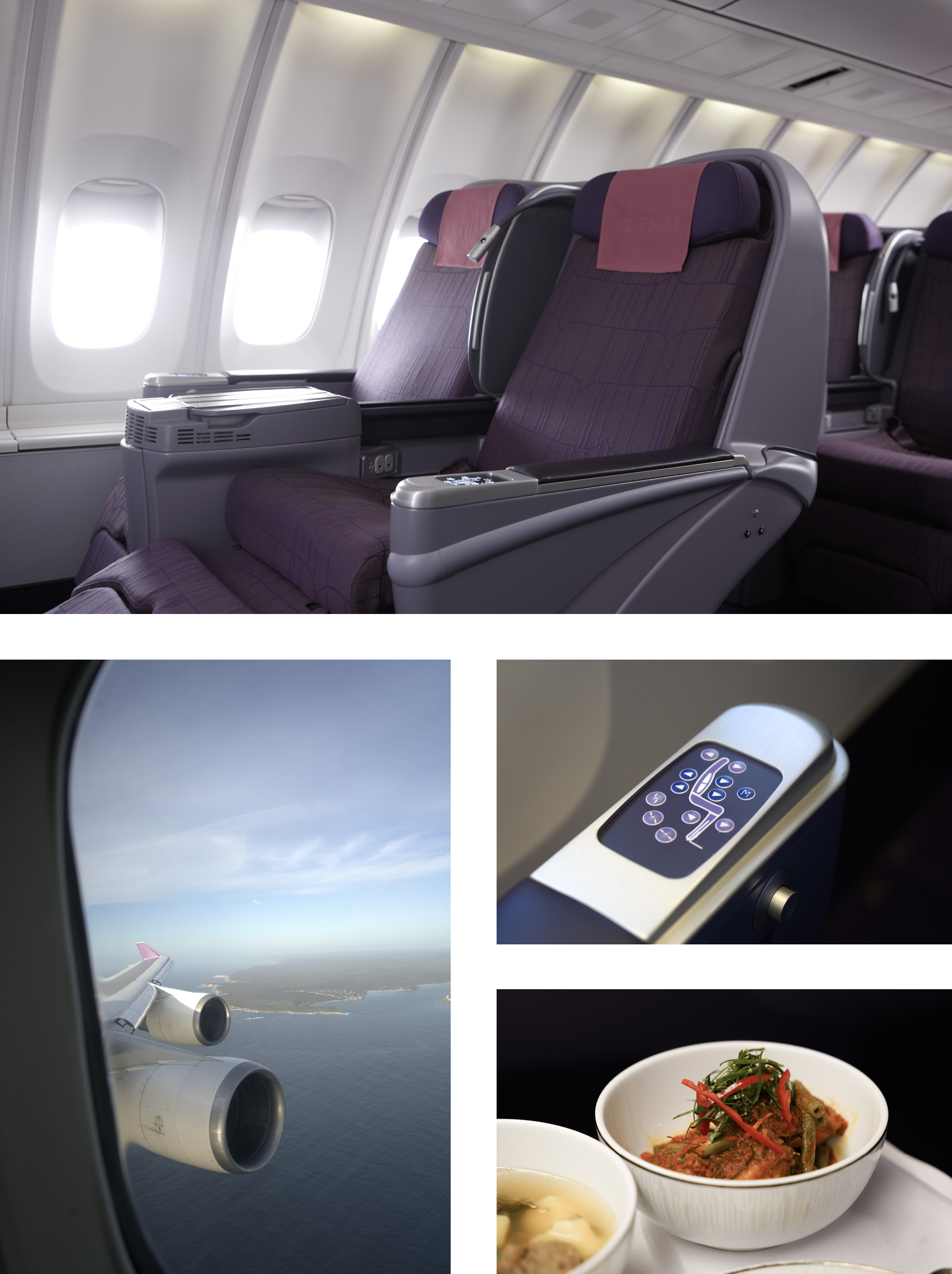 Thai Airways Royal Silk Business Class Review