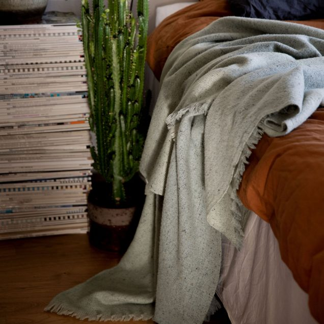 Nudie Jeans x Waverley Mills Recycled Blanket