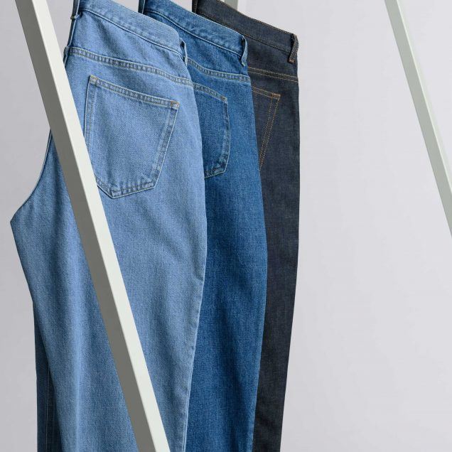 Asket Washed Denim Jeans