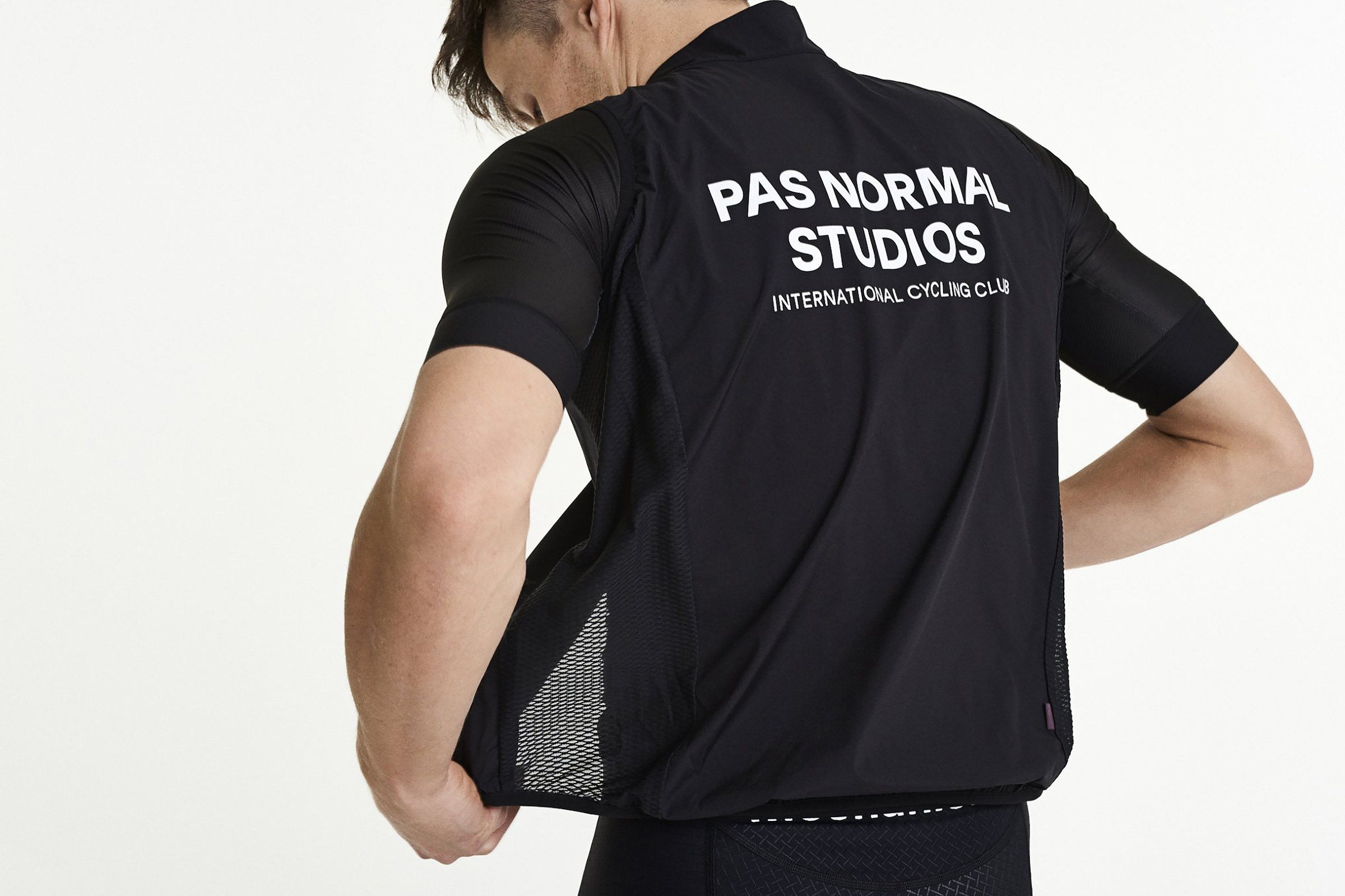 Well-Designed, Minimalist Cycling Kit & Accessories - Pas Normal Studios Stow Away Gilet