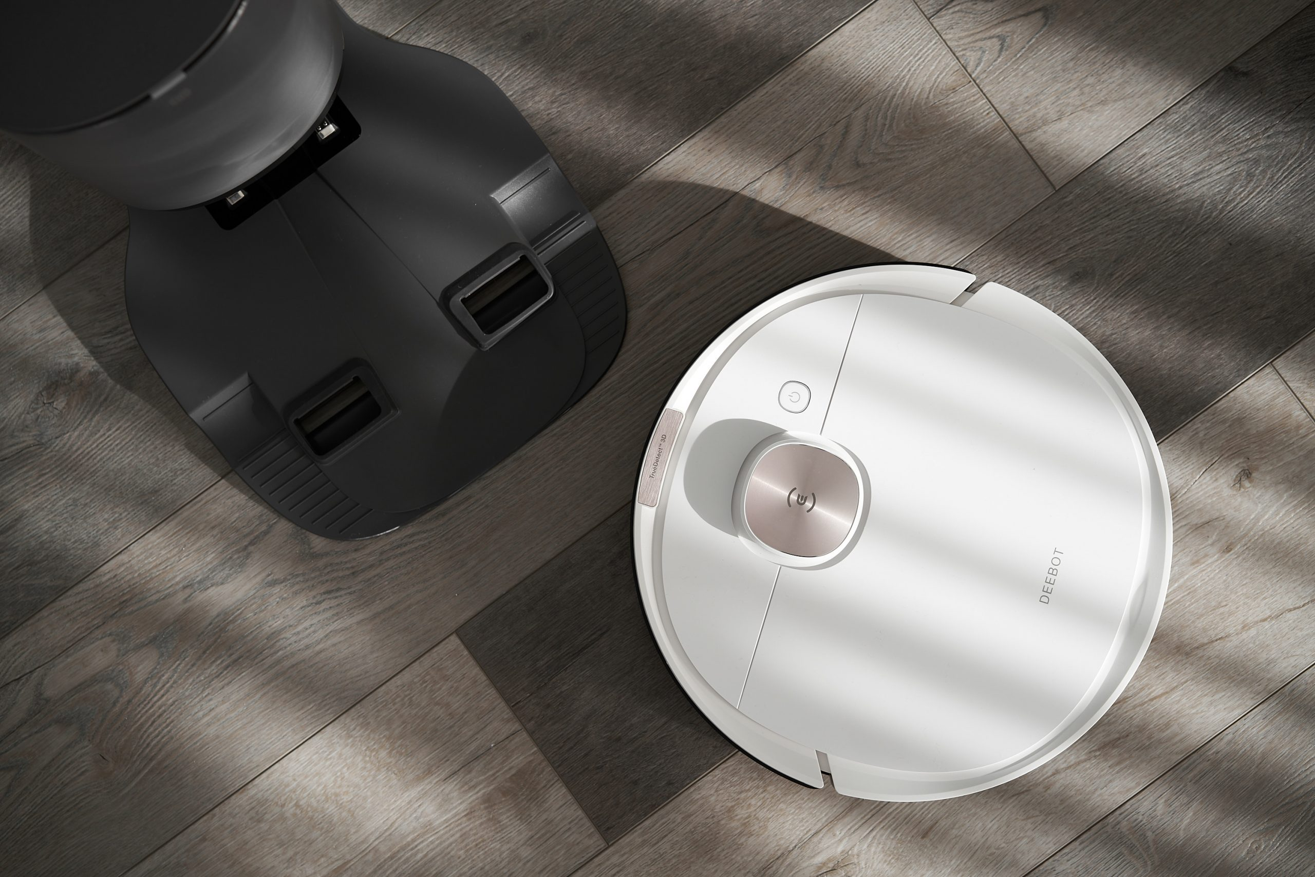 Automate Cleaning To Work From Home Productively — ECOVACS ROBOTICS Deebot Ozmo T8+ Review — Robotic Vacuums — HEY GENTS