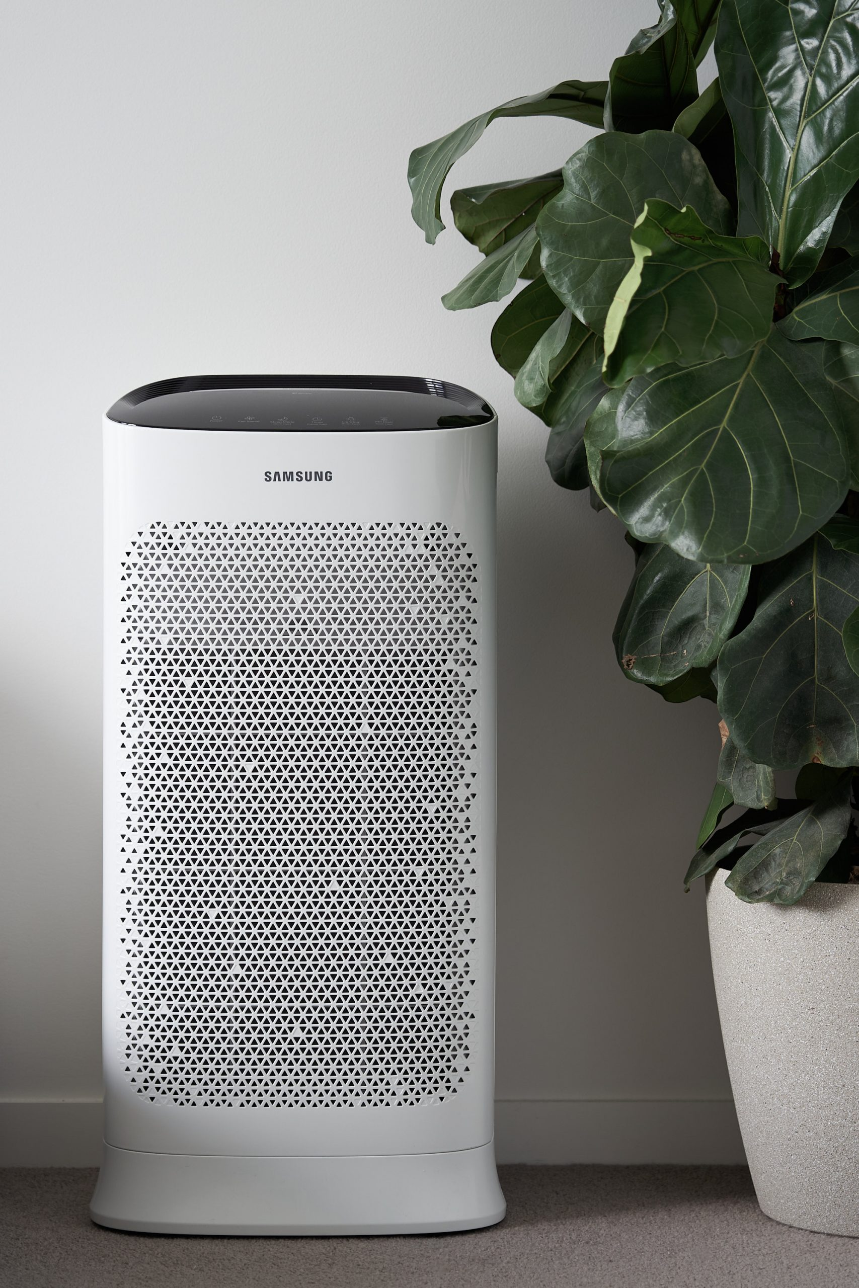 How To Get A Good Night's Sleep - Samsung AX5500K Air Purifier - HEY GENTS