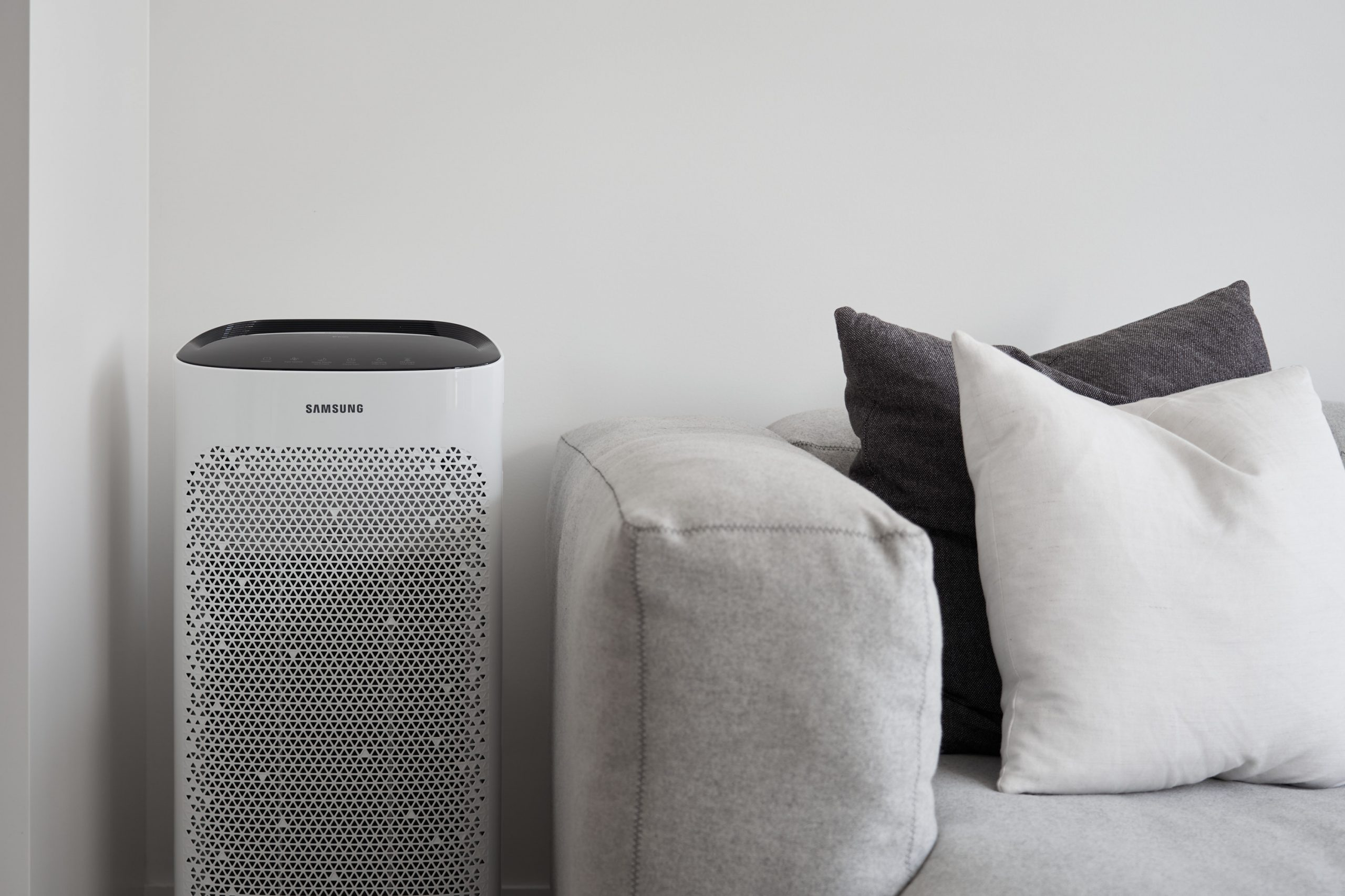 How To Get A Good Night's Sleep - Samsung Air Purifier - HEY GENTS
